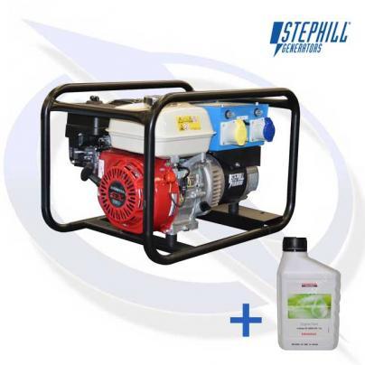 Stephill SE2700+ 2.7kVA/2.2kW Honda Petrol Generator