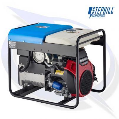 Stephill SE10000 10kVA / 8KW Honda Petrol Generator