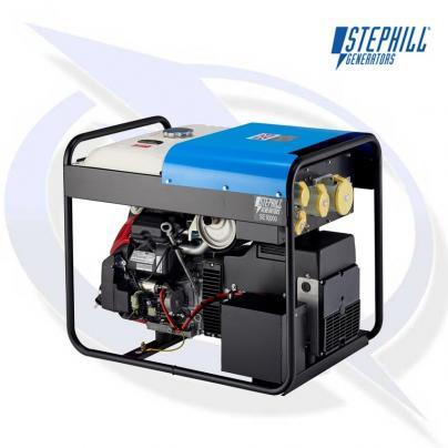 Stephill SE10000EC 10kVA / 8kW Honda Petrol Fusion Generator