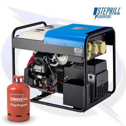 Stephill SE10000 LPG 10kVA / 8KW Honda Petrol Generator