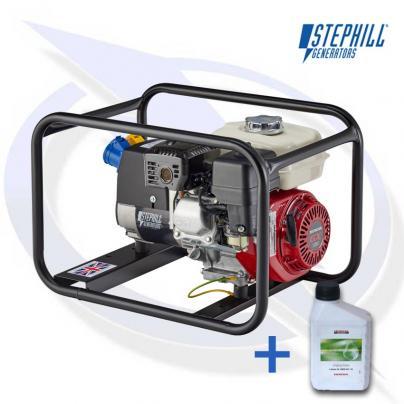 Stephill SE2700 2.7kVA / 2.2KW Honda Petrol Generator