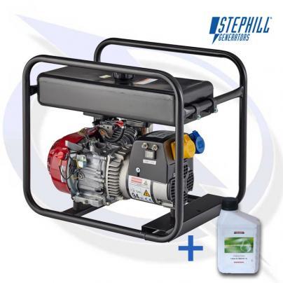 Stephill SE2700LR 2.7kVA / 2.2KW Long Run Honda Petrol Generator