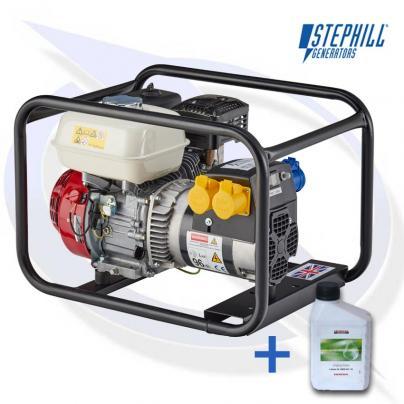 Stephill SE34003S 3.4kVA/2.7KW Honda GX200 Petrol Generator