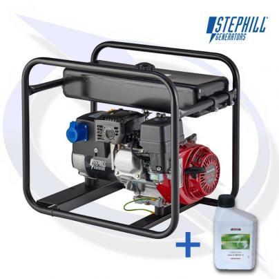 Stephill SE34003slr 3.4kVA / 2.7KW Frame Mounted Petrol Generator