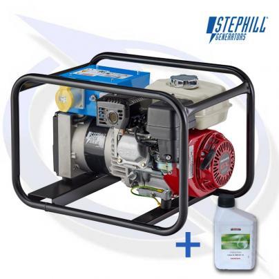 Stephill SE3400EC 3.4kVA/2.7kW Frame Mounted Petrol Fusion Generator