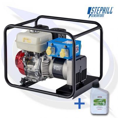 Stephill SE5000EC 5kVA / 4kW Honda Petrol Fusion Generator