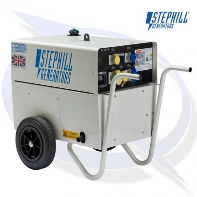 Stephill SE6000D4 6kVA/4.8KW Yanmar Diesel Generator