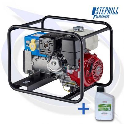 Stephill SE6500EC 6.5kVA/5.2kW Honda Petrol Fusion Generator