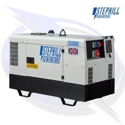 Stephill SSD10000S 3PH 3-Phase Super Silent 10kVA / 8KW Generator