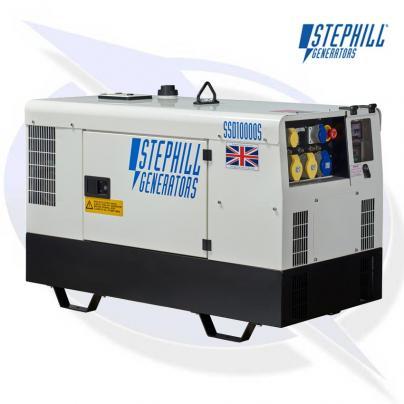 Stephill SSD10000S 10kVA / 8KW Super Silent Diesel Generator