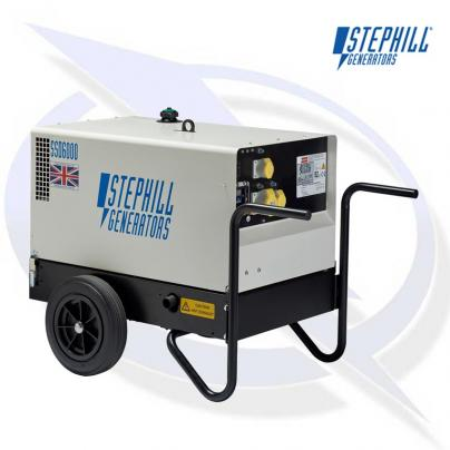 Stephill SSD6000EC 6kVA/4.8kW Canopy Diesel Fusion Generator