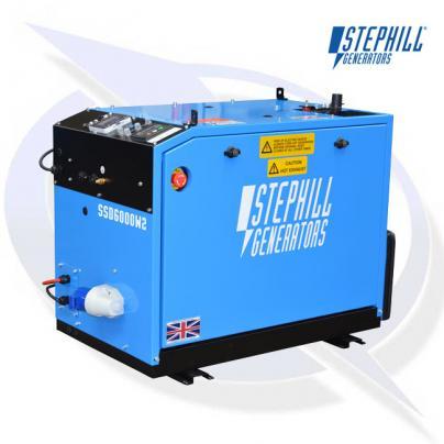 Stephill SSD6000W2 6kVA / 4.8kW Welfare Cabin Diesel Generator