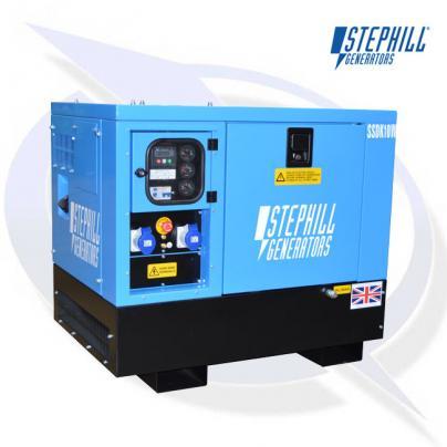 Stephill SSDK10W AVR 10kVA / 8kW Welfare Cabin Diesel Kubota D1105 Generator