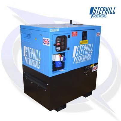 Stephill SSDK10W/3 AVR 10kVA / 8kW Welfare Cabin Diesel Generator