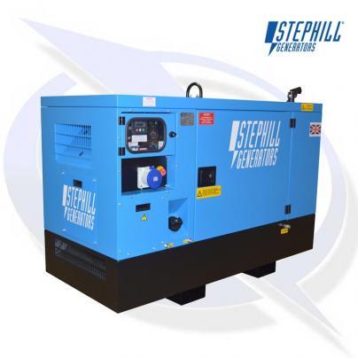 Stephill SSDK12W AVR 12kVA / 9.6kW Welfare Cabin Diesel Generator