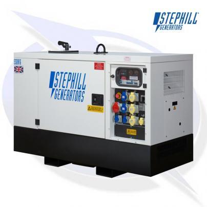 Stephill SSDK16M 16kVA/12.8kW Super Silent Diesel Generator