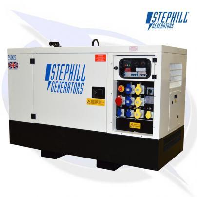 Stephill SSDK25M 25kVA / 20kW Super Silent Diesel Generator