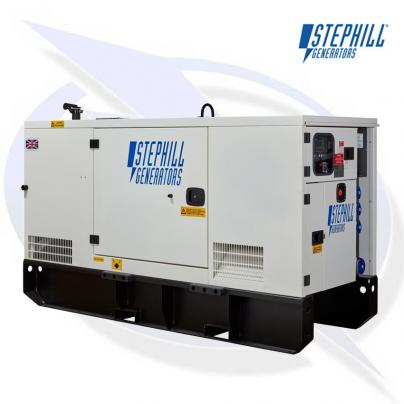 Stephill SSDP30 AVR 30kVA/24kW Super Silent Diesel Generator