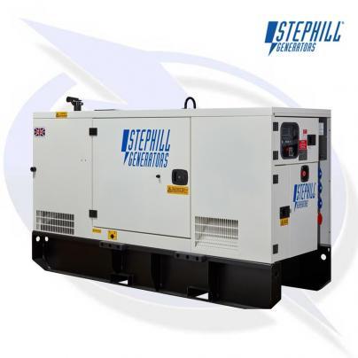 Stephill SSDP33 AVR 33kVA/26kW Super Silent Diesel Generator