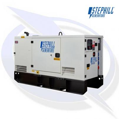 Stephill SSDP36A AVR 36kVA/28kW EU Stage 3A Super Silent Diesel Canopy Generator