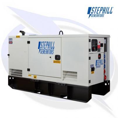 Stephill SSDP50 AVR 50kVA/40kW Super Silent Diesel Generator