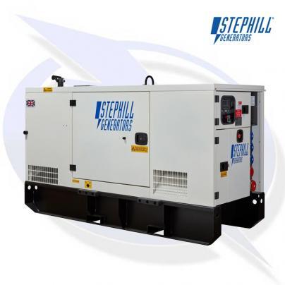 Stephill SSDP70 AVR 67kVA/53kW Super Silent Diesel Generator