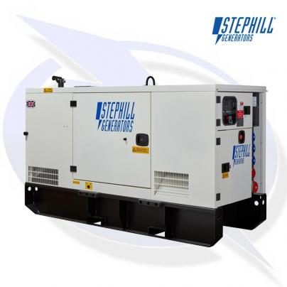 Stephill SSDP70A AVR 70kVA/53kW EU Stage 3A Super Silent Diesel Canopy Generator