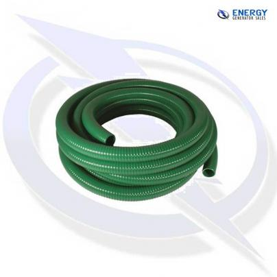 """1.5"""" SUCTION DELIVERY WATER PUMP HOSE 38MM - 6M LENGTH"""