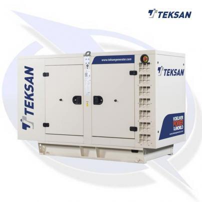 Teksan TJ33PE5L 33kVA/26.4kW Three Phase Diesel Canopy Generator