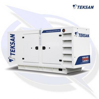 Teksan TJ123BD5L 123kVA/98kW Three Phase Diesel Canopy Generator