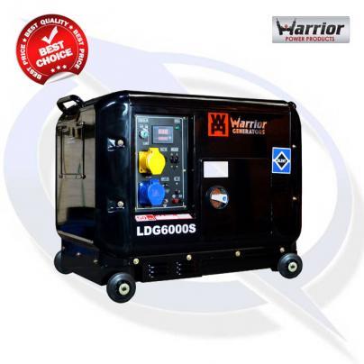 Warrior LDG6000S 6kVA / 5kW Silent Diesel Canopy Generator