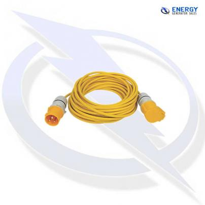10m extension lead - 16A 110V with 1.5mm Arctic grade cable