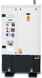 HGI Harrington WAC90H 9 kVA/7.2 kW Diesel Welfare Cabin Generator