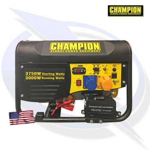 Champion CPG4000E1 3500 Watt AVR Petrol Generator