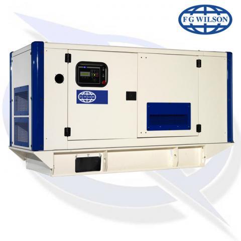 FG Wilson P26-3S AVR 24kVA/24kW Single Phase Diesel Canopy Generator