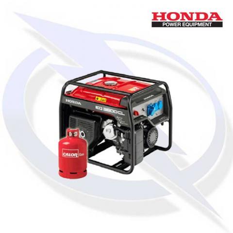 Honda EG3600CL 3.6kW3kVA Specialist Framed Dual Fuel LPG Generator