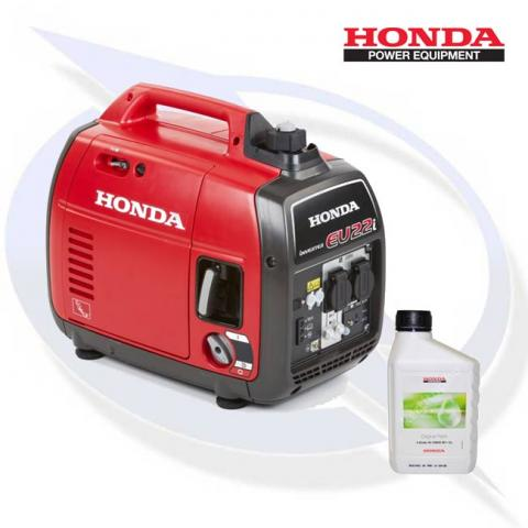 Honda EU22i 2.2kW Petrol Inverter Generator