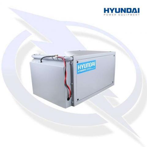 Hyundai HY8000RVi 7.5kW Motorhome RV Petrol Inverter Generator