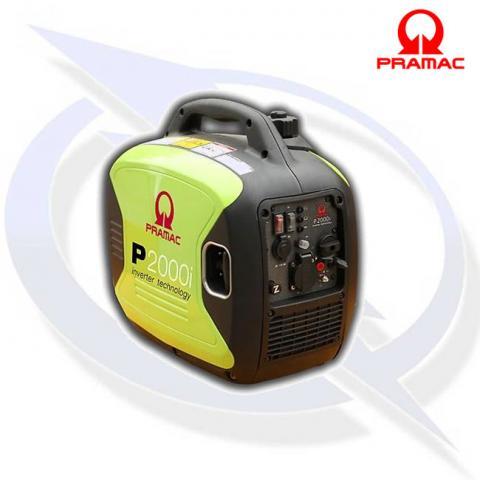Pramac P2000i 2.5kVA/2kW Yamaha Powered Inverter Suitcase Petrol Generator