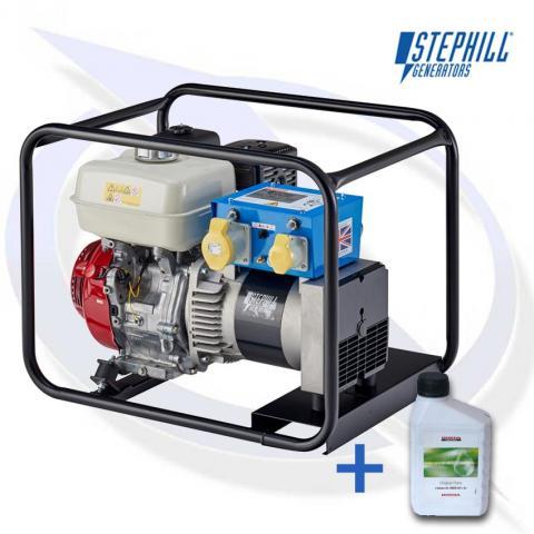 Stephill 5000HMS 5kVA / 4KW Honda Petrol Generator