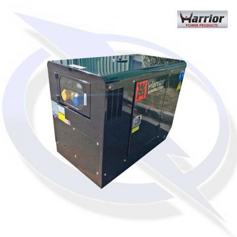 Warrior LDG12S 11KVA/11.0kW Silent Diesel Canopy Generator