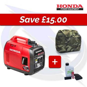HONDA EU22I CAMO COVER & SERVICE KIT BUNDLE