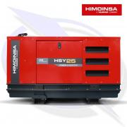 HIMOINSA HSY-25 M5 24KVA/19KW SINGLE PHASE DIESEL CANOPY GENERATOR