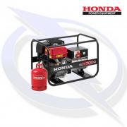 Honda ECT 7000 7kW/7kVA 3 Phase Framed Dual Fuel LPG Generator