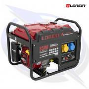 Loncin LC3500-AS 3.1kVA/3.1kW Frame Mounted Petrol Generator