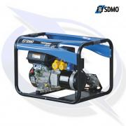 SDMO Perform 4500 GAZ TB 4.9kVA/3.9kW Framed LPG Generator