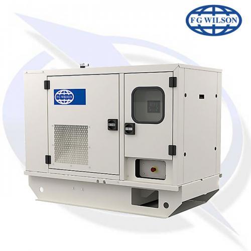 fg wilson p150 120kw diesel canopy generator